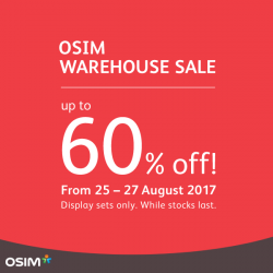 [OSIM] The sale you have been waiting for is finally here!