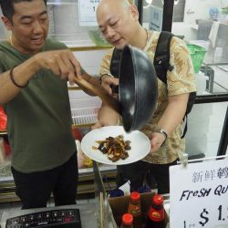 [Tung Lok Seafood] Sourcing for the best ingredients which are chemical and pesticide-free.