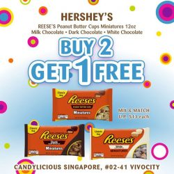 [Candylicious] Hershey's and Reese's lovers rejoice!
