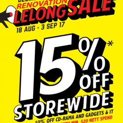 [POPULAR Bookstore] The Renovation Lelong Sale is happening now at POPULAR Clementi Mall!