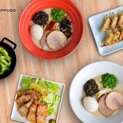 [Ippudo Express] Slurping up our signature Shiromaru or Akamaru ramen will taste especially awesome this week because you can have it  delivered