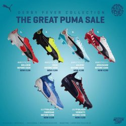 [WESTON CORP] The Great Puma Sale Starts Tomorrow (1st September)At Weston Stores And Online www.
