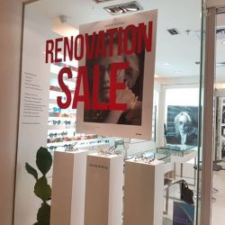 [Atlantic Optical] Hi Fans, our Wheelock outlet is having a renovation sale.
