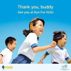 [POSB Autolobby] With your overwhelming support, close to 1,400 underprivileged children and their parents in the Sponsor A Buddy programme will