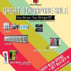 [IDARTS CUBE] 2 DAYS LEFT before of Great Singapore Sale ends!