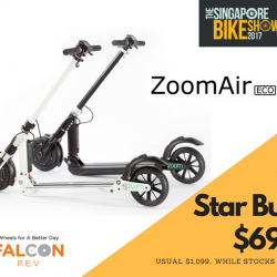[Falcon PEV] We are kicking off the The Singapore Bike Show 2017 with this special deal!