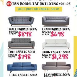 [Lifestorey] Lifestorey is having a NEW POP-UP furniture Bazaar Sale at Tan Boon Liat 05-08 with over 4,000
