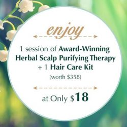 [Oriental Hair Solution] SetForSaturday pampering yourself through a session of Award-Winning Herbal Scalp Purifying Therapy with us at Oriental Hair Solutions and
