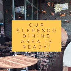 [Uncle Leong Signatures] Our Alfresco Dining Area is ready!