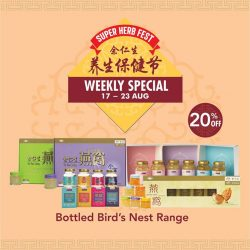 [Eu Yan Sang] Don't miss out on our Super Herb Fest weekly deals!