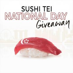 [Sushi Tei] Congratulations to the following Sushi Tei fans!