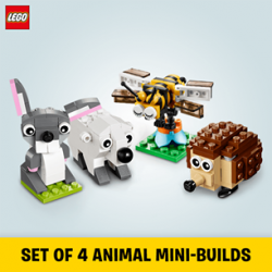 [The Brick Shop] Get a FREE* LEGO® Mini-Build of your choice when you spend $80 and above in a single receipt on