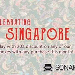 [Sonare Music School] Less than two weeks left to enjoy 20% discount off any of our vintage collection music boxes with any purchase.