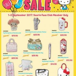 [Sanrio Gift Gate] Besides the massive Annual Sale, we have prepared special buys just for members these 2 days!