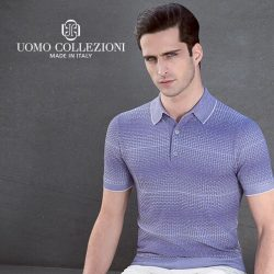 [Uomo Collezioni] One of the most versatile and flexible shirt any gentleman should own - Polo Shirt- ideal choice for warm weather.