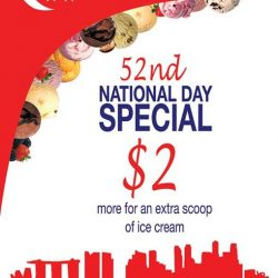[New Zealand Natural Café] In light of Singapore's 52nd Birthday, we're offering a special offer for all New Zealand Naturals customers!