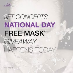 [Jet Concepts Skin] Our mask giveaway happens today!