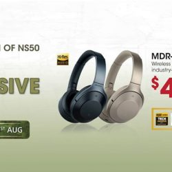 [Connect-IT by Jade Gift Shop] Save $100 when you purchase the Sony, MDR-1000X Bluetooth Noise Cancelling headphones now!
