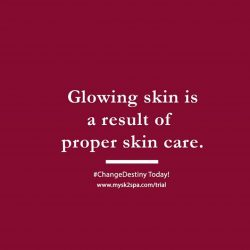 [SK-II Boutique Spa] Glowing skin is a result of proper skin care.