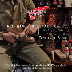 [Red Wing Shoe] Maybe you have missed the previous boots cleaning session with us.