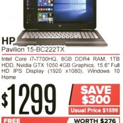 [Newstead Technologies] This HP laptop is equipped with the latest processor and graphics card is now giving away 2nd year warranty plus