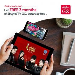 [Singtel] Catch your favourite shows at home or on-the-go with Singtel TV GO.
