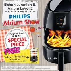 [Best Denki] Come on down to our Atrium Show @ Bishan Junction 8 Level 2 to enjoy 10% off all Philips products on
