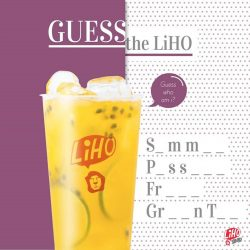 [Gong Cha Singapore] Guess your favourite cup and treat yourself to a cooling refresher!