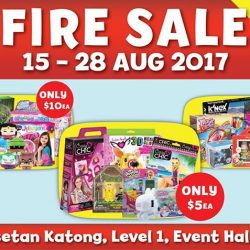 [Isetan] Fire Sale Now On!