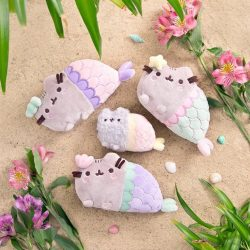 [Natures Collection] Swim with our Pusheen Mermaid and her sister, Stormy Mermaid!