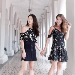 [MDSCollections] Freesia Cami Dress In Black   Shop mdscollections best sellers of the week online & in-stores.
