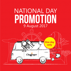 [CHALLENGER MINI] Be sure to check out the roadshow at B4 ION Station on National Day for special deals for printers and