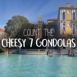 [Pizza Hut Singapore] COUNT the number of Cheesy 7 Extreme & Original gondolas at the Grand Canal!
