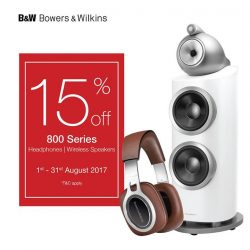 [B&W Bowers & Wilkins] SINGAPORE'S NATIONAL DAY SPECIAL PROMOTIONJoin us as we celebrate this special occasion!