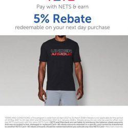 [DOT Singapore] With NETSPLUS, enjoy 5% rebates when you use your NETS card to make purchases at DOT.