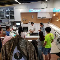 [Gain City] Here's a big thank you to everybody who attended today's cooking demo by Chef Michele Ow, brought to