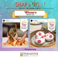 [Paradise Group] We have the winners of our monthly Instagram contest for July 2017!