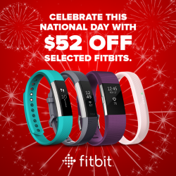 [Courts] Enjoy $52 OFF your purchase of selected fitbits this National Day!