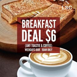 [London Sandwich Co.] Kickstart your day with our $6 breakfast deal!