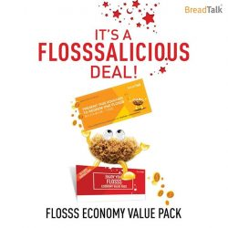 [BreadTalk® Singapore] Are you a Flosssaholic?