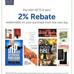 [MOUNT ZION CHRISTIAN BOOKS & GIFTS CENTRE] NETSPLUS: Pay for your purchases by NETS in our retail shops and you will receive an extra 2% discount which
