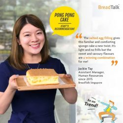 [BreadTalk® Singapore] Have you redeemed your free Pong Pong Cake for being a fan of ours?
