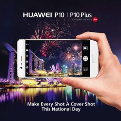 [HuaWei] Get perfect shots of the fireworks with the HuaweiP10.