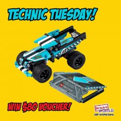 [Bricks World (LEGO Exclusive)] Technic Tuesday - Furthest Jumping Stunt TruckTechnic Tuesday is back with another challenge, and this time, we want to know