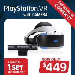 [Best Denki] Get the Playstation VR & Camera bundle at a super special price of $449 (UP: $649) ONLY at BEST Denki's