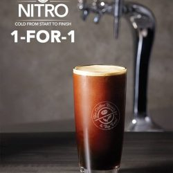 [The Coffee Bean & Tea Leaf® - Singapore] Just 4 days left for the 1-for-1 offer on our Nitro Brew!
