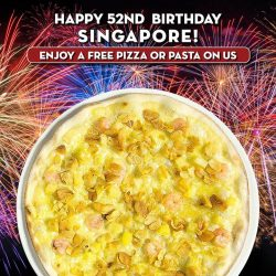 [Mad for Garlic] Mad for Garlic celebrates Singapore's Birthday with two irresistible offers.