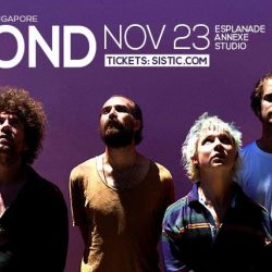 [SISTIC Singapore] Tickets for POND - Live in Singapore goes on sale on 15 August 2017.
