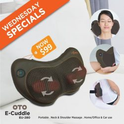 [OTO Bodycare] WEDNESDAY SPECIALS - OTO E-Cuddle at Only $99.