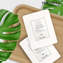 [Tony Moly Singapore] For now till stock lasts, get one piece of FREE Naturalth Goat Milk Moisture Sheet Mask when you make any